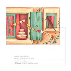Carte «Joyeux Anniversaire»