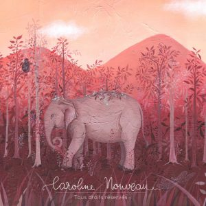 Œuvre originale – L'éléphant du Mondulkiri