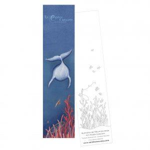 Marque-page «Un Océan à sauver – Baleine»