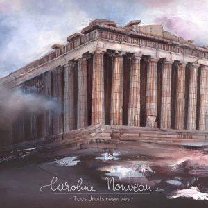 Œuvre originale – Le Parthénon