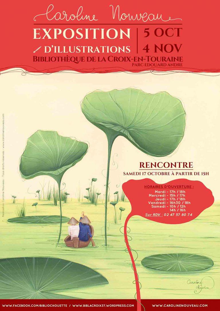 Read more about the article Exposition Peinture à La-Croix-en-Touraine