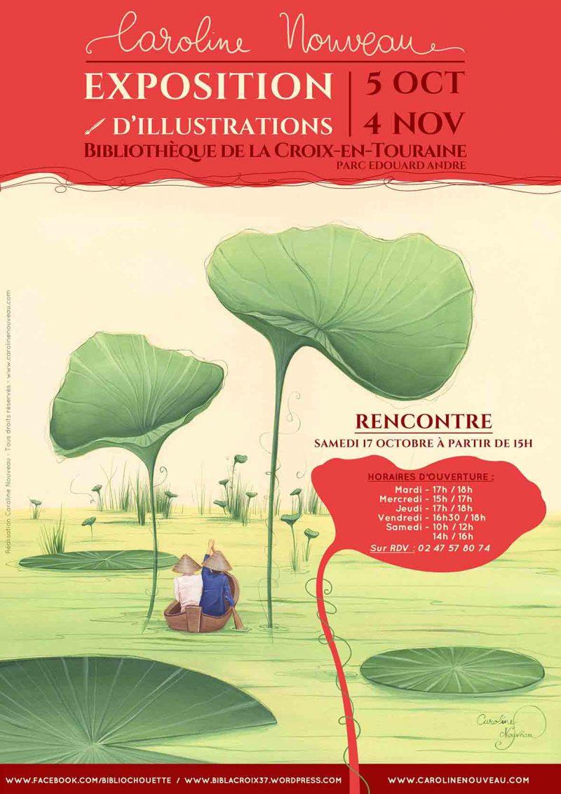 Exposition Peinture à La-Croix-en-Touraine