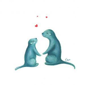 Œuvre originale – Les Marmottes