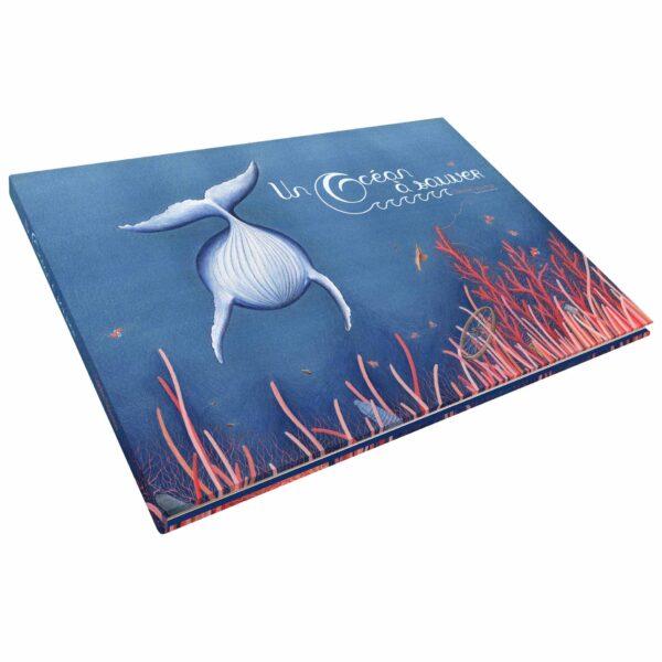 livre enfants ocean environnement baleine corail dechets poissons