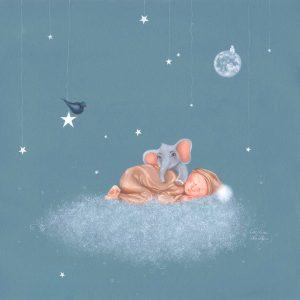 Œuvre originale pour naissance – Naissance dans les nuages