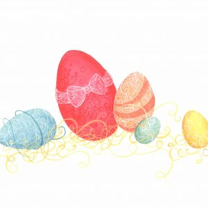 Œuvre originale – Joyeuses Pâques