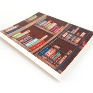 Œuvre originale – Bibliothèque