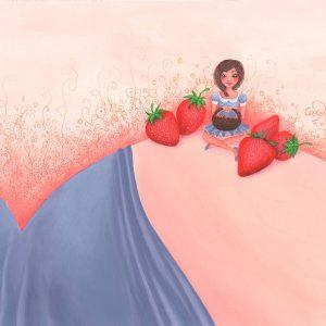 Œuvre originale – Envie de fraises