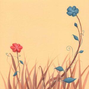 Œuvre originale de naissance – Automne floral