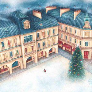Œuvre originale – L'hiver sur Paris