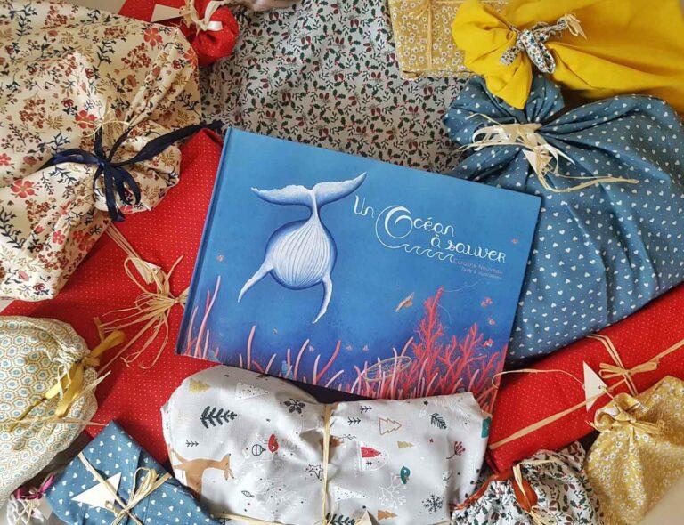 caroline nouveau cadeau tissu noel ocean livre pour enfants